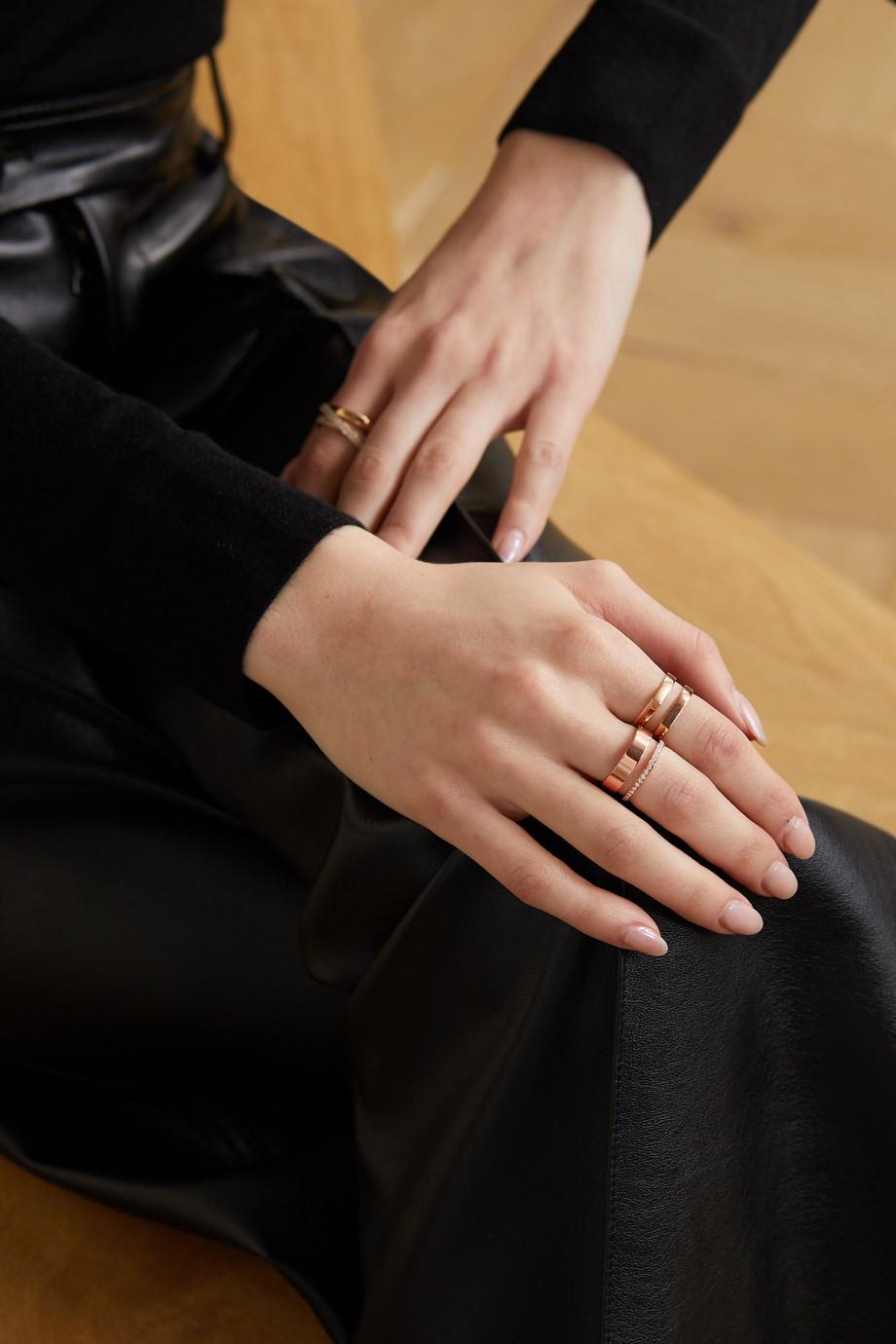Repossi Berbère Module 18-karat rose gold diamond ring