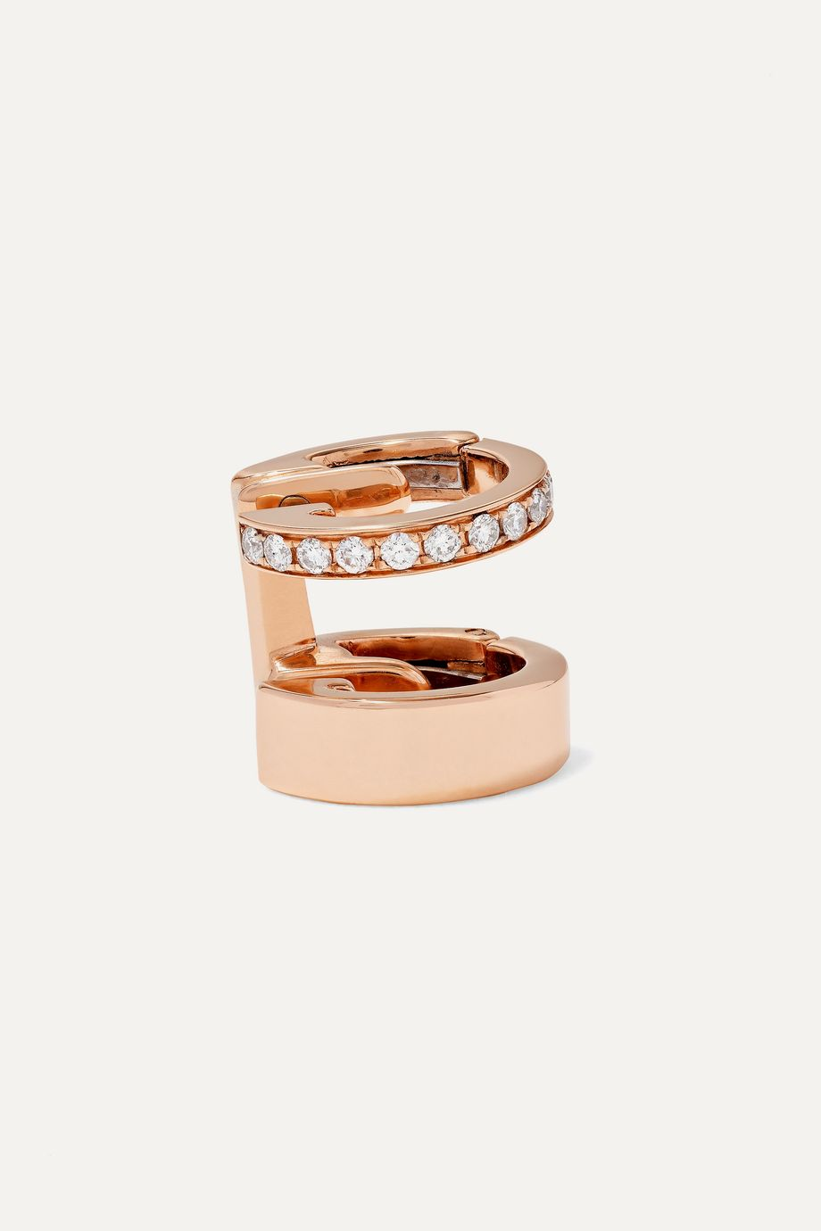 Repossi Berbère Module 18-karat rose gold diamond ear cuff