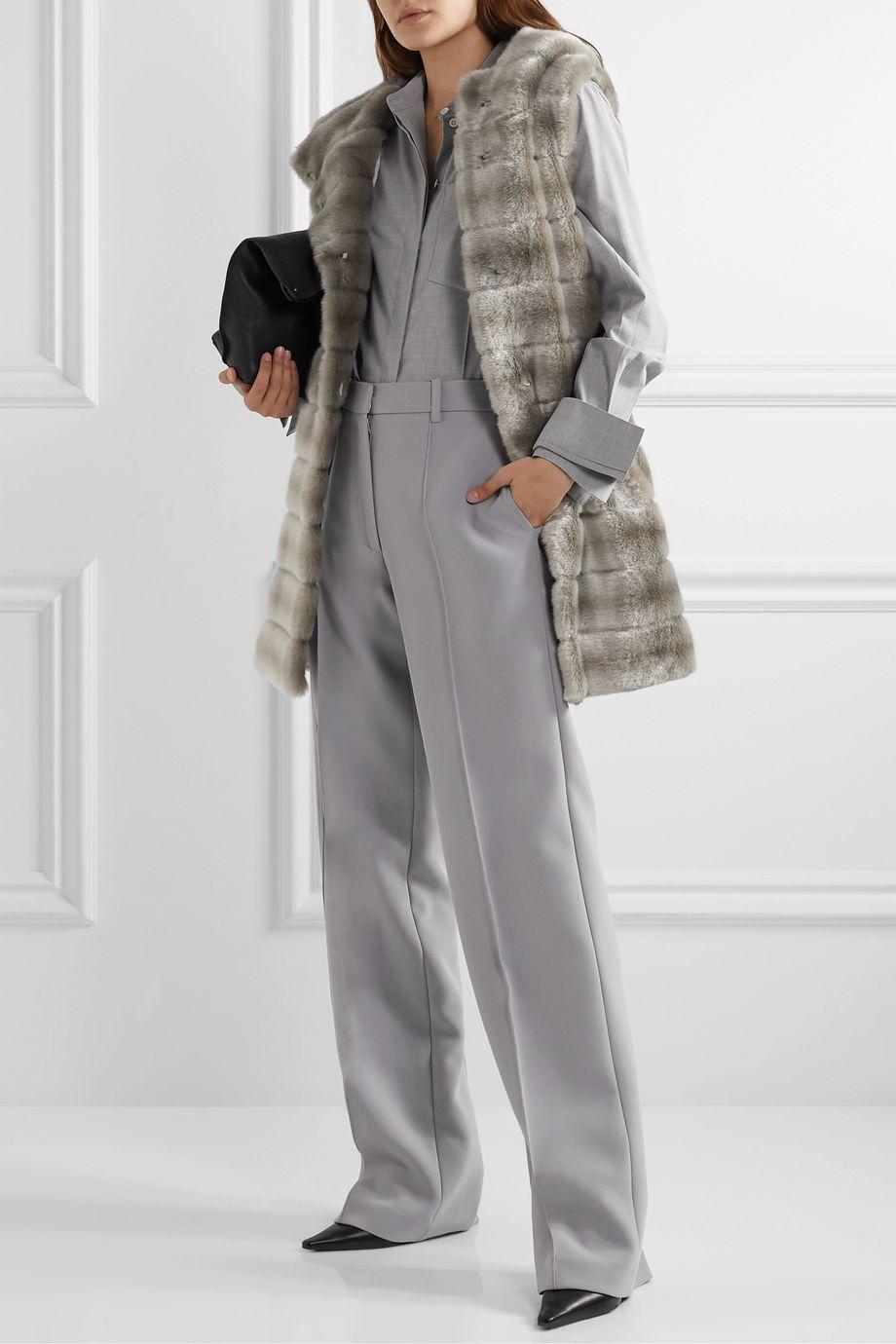 Faz Not Fur Oh My Deer hooded faux fur vest