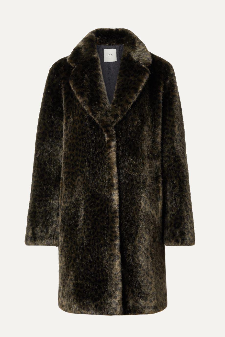 Faz Not Fur Snow Leo faux fur coat