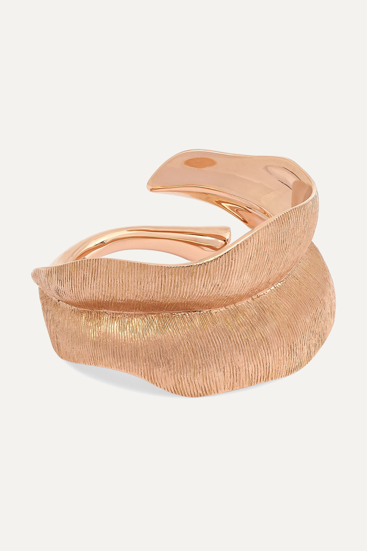 OLE LYNGGAARD COPENHAGEN Leaves Ring aus 18 Karat Roségold