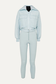 Telluride convertible paneled ski suit