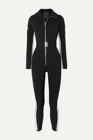Cordova striped ski suit by Cordova, available on net-a-porter.com for EUR920 Mariah Carey Dress Exact Product
