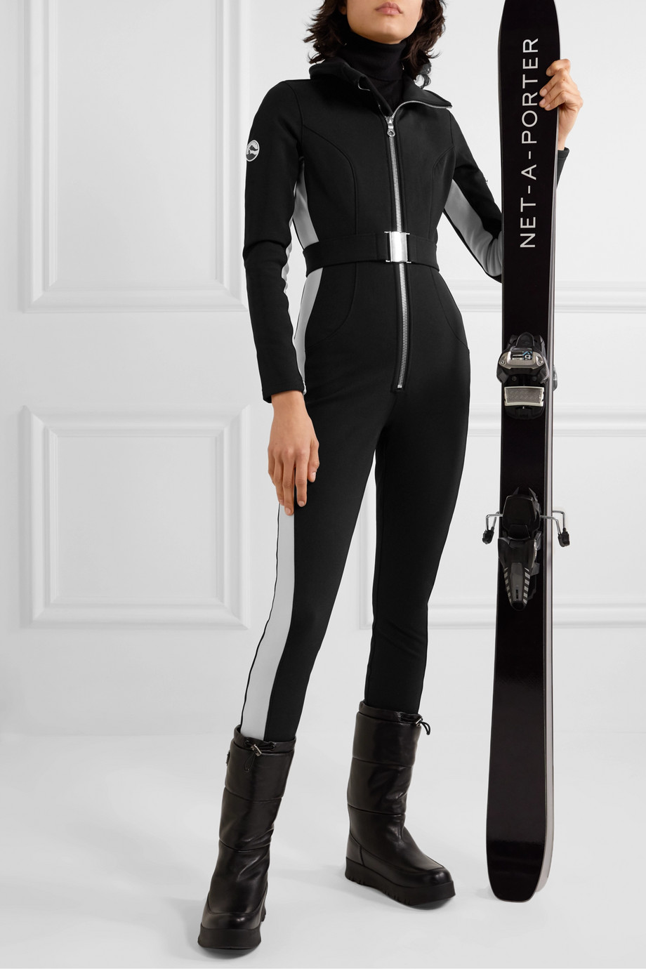 Cordova Cordova striped ski suit