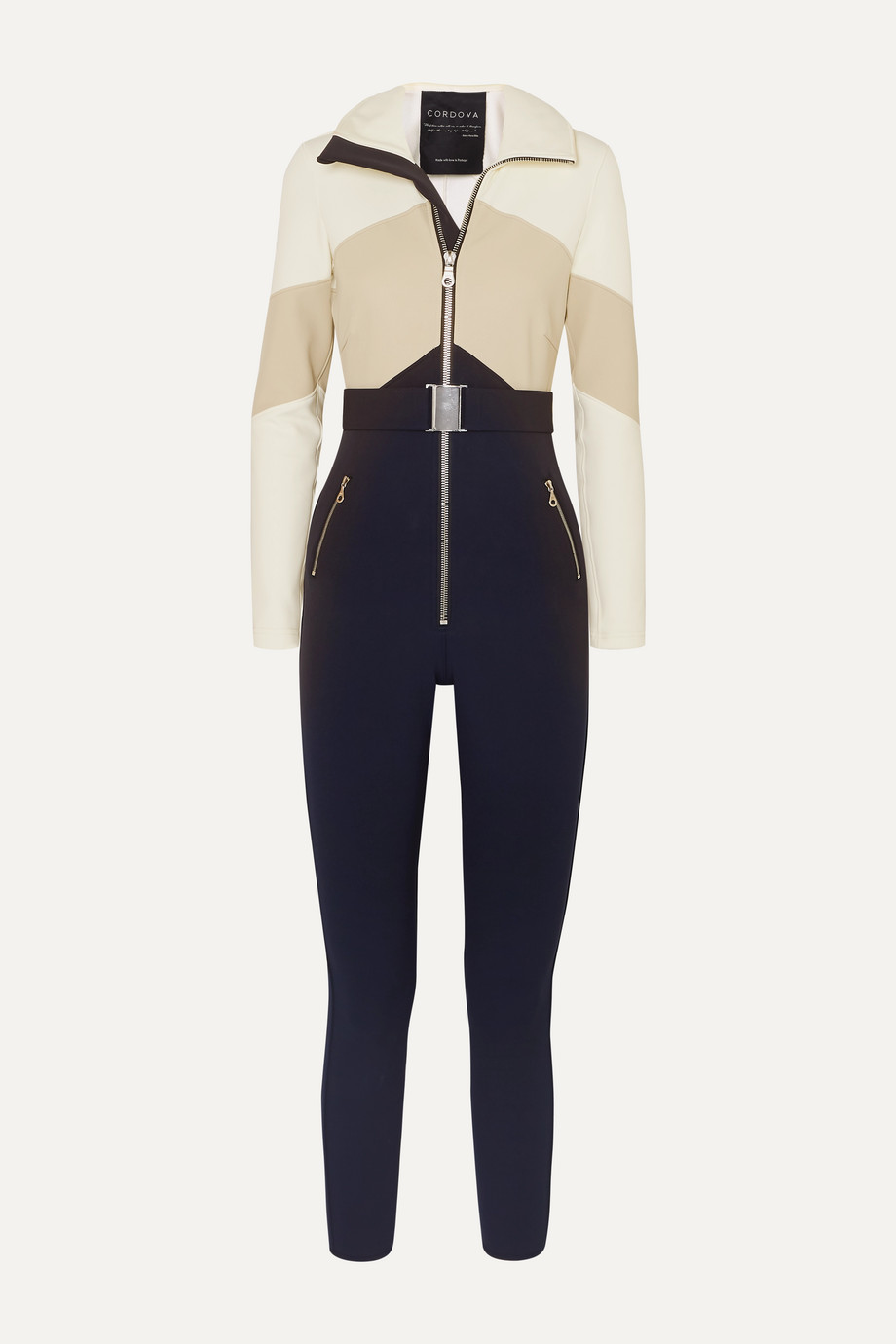 Cordova The Alta belted stretch ski suit