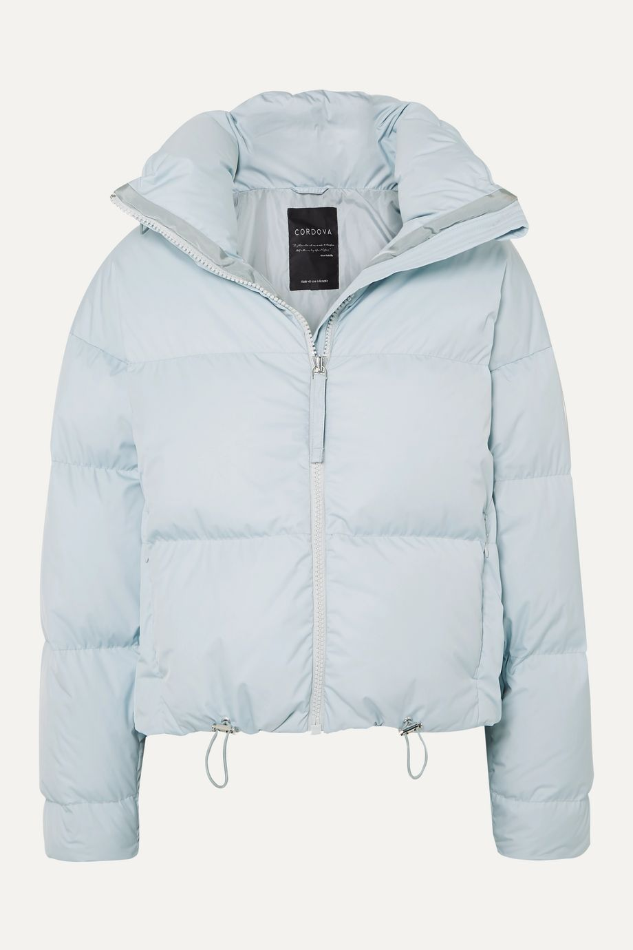 Cordova The Mont Blanc cropped quilted down ski jacket