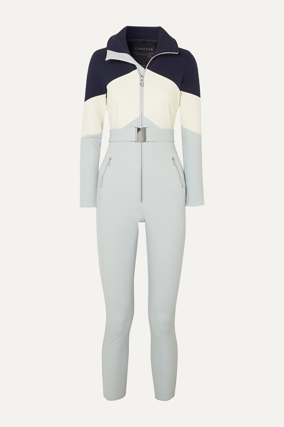 Cordova Alta belted stretch ski suit