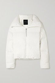 Cordova Mont Blanc quilted down ski jacket