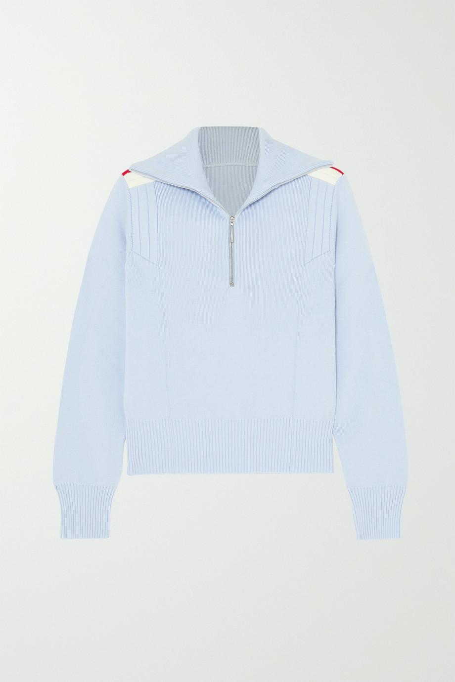 Cordova Are striped merino wool sweater