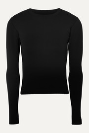 Cordova Signature ribbed stretch-knit top