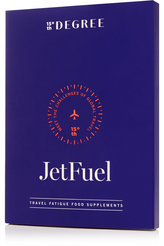 15th Degree Kit de poudres bien-être pour les voyages JetFuel, 12 sachets