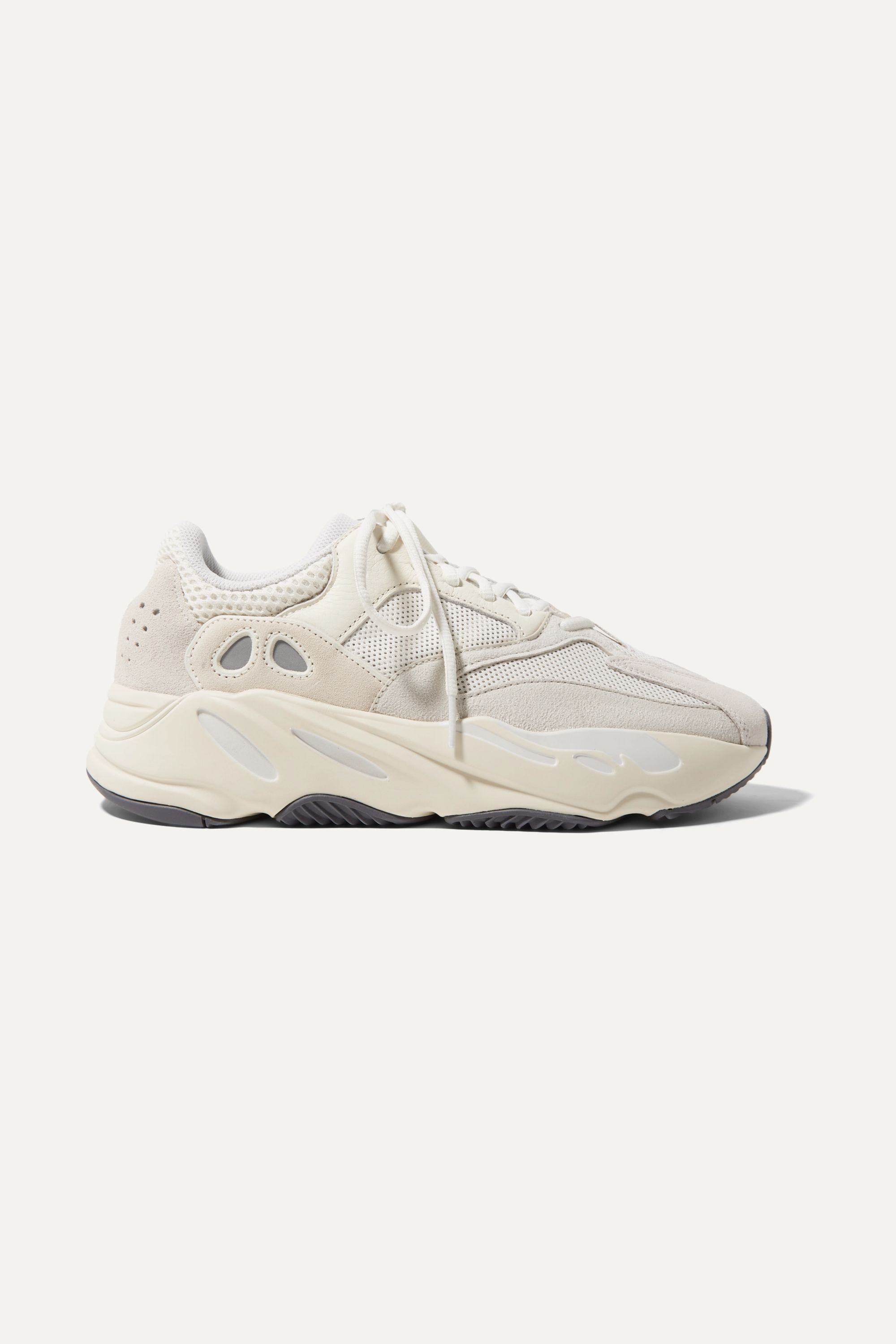 adidas Originals Yeezy Boost 700 suede, leather and mesh sneakers