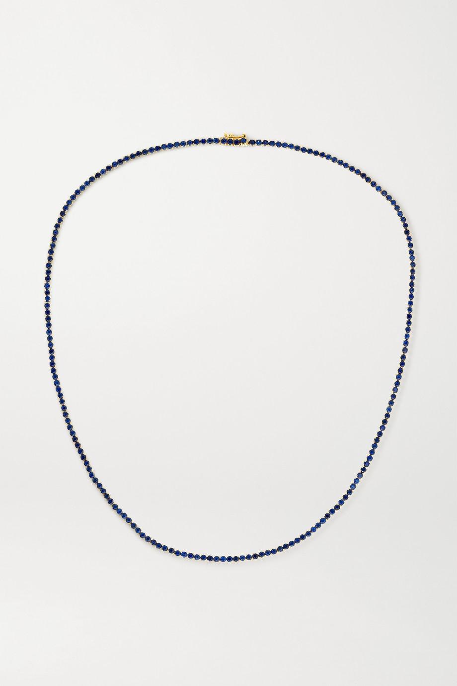 Anita Ko Hepburn 18-karat gold sapphire choker