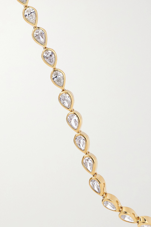 Anita Ko 18-karat gold diamond bracelet