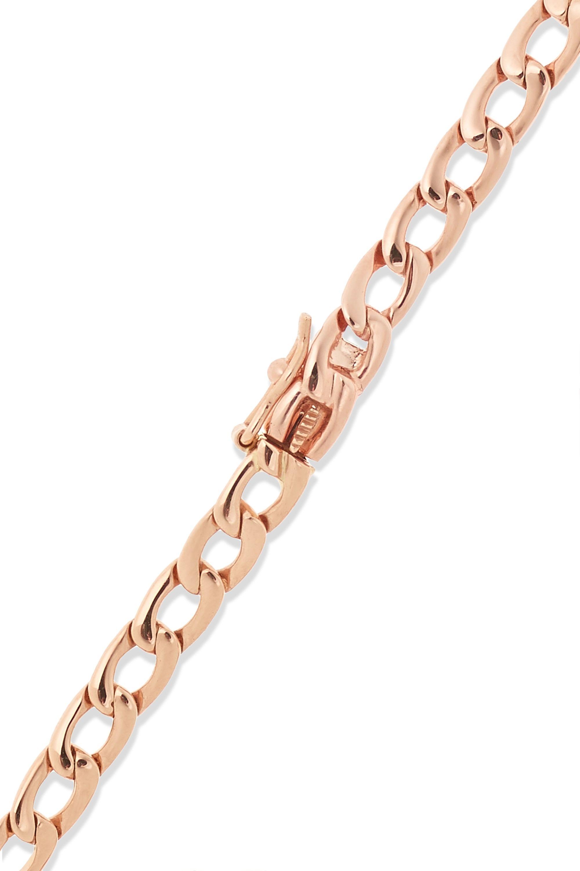 Anita Ko 18-karat rose gold diamond bracelet
