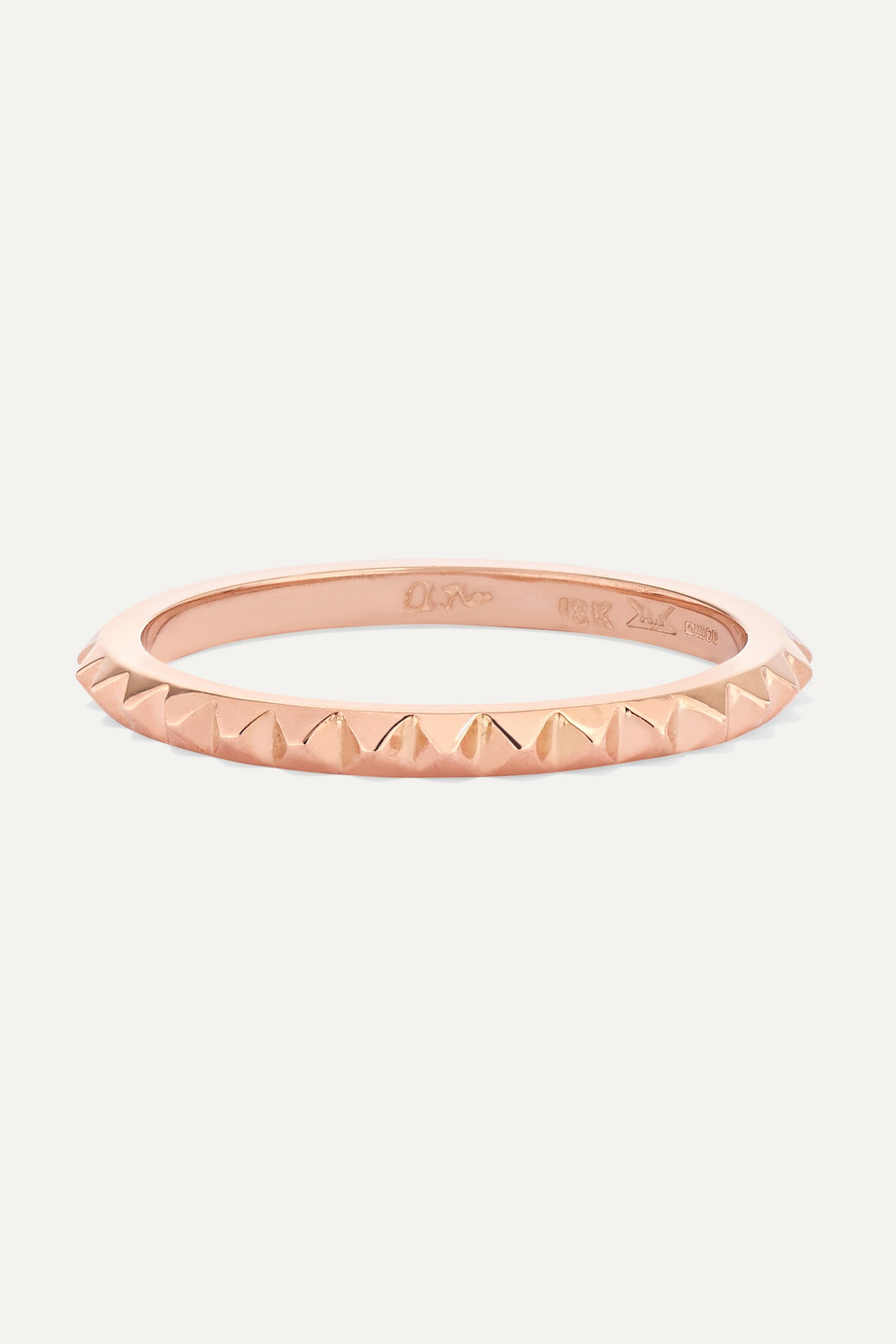 Anita Ko Spike 18-karat rose gold eternity ring