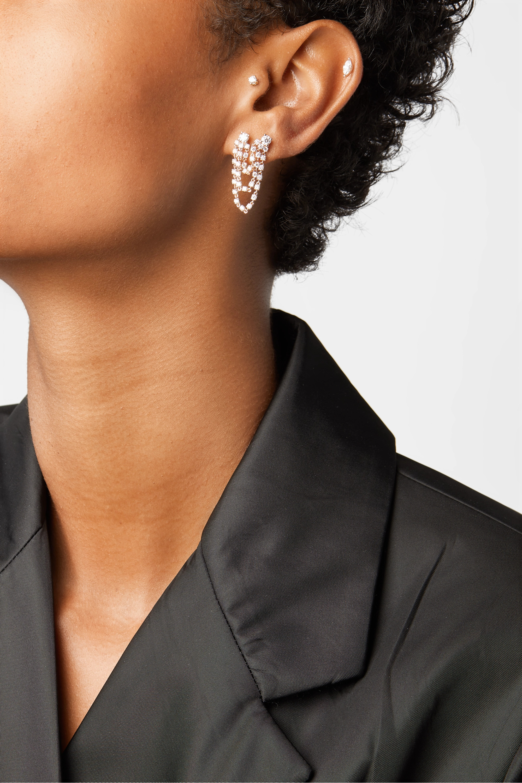 Anita Ko Bianca 18-karat rose gold diamond earring