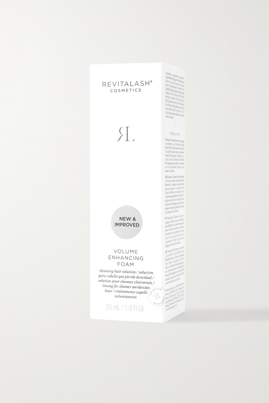 REVITALASH Volume Enhancing Foam, 55ml