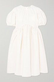 + Sophie Bille Brahe Thelma oversized cotton-blend cloqué dress
