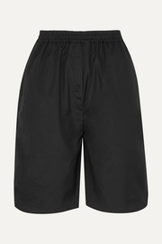 + Sophie Bille Brahe Simoe cotton-poplin shorts
