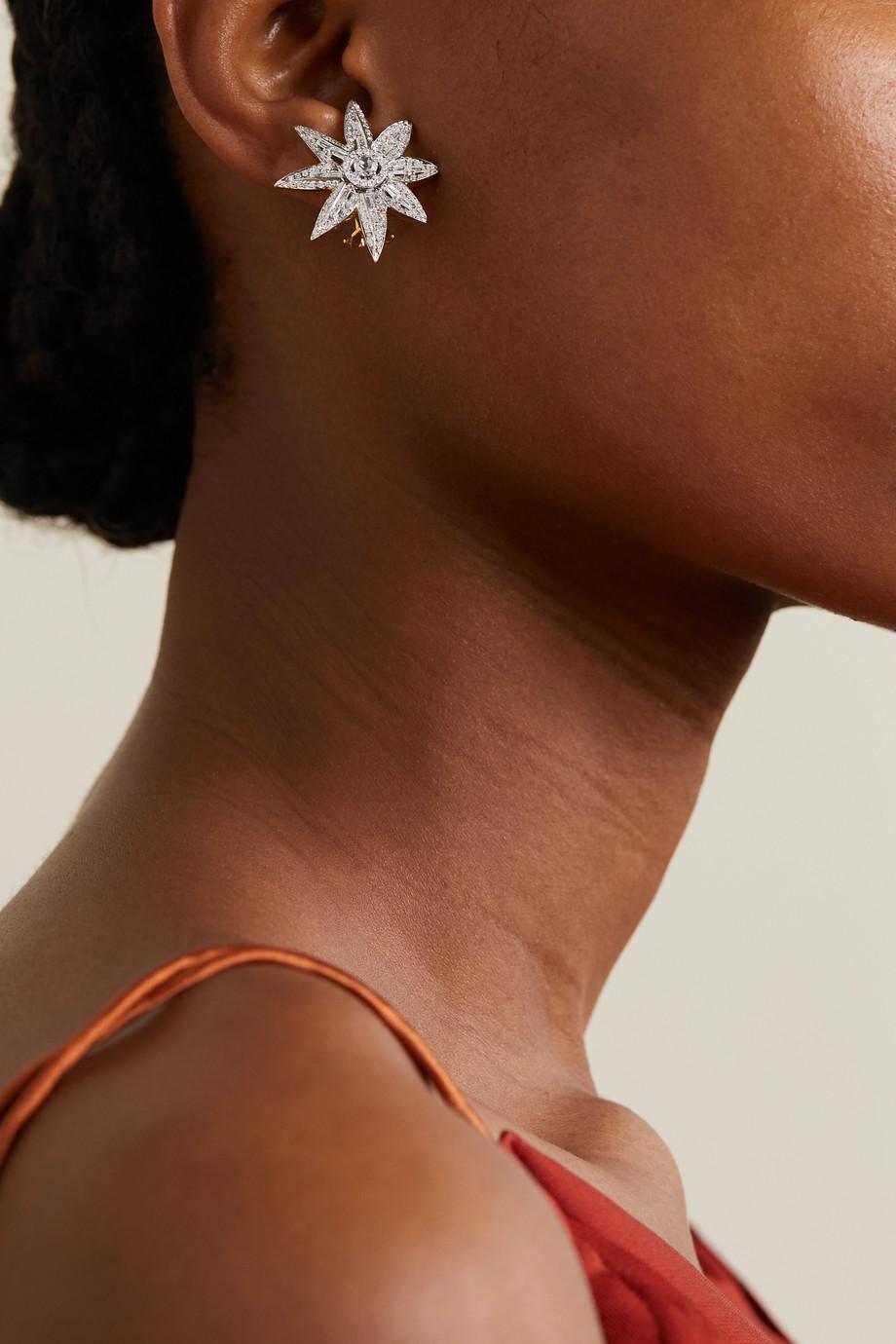 Bina Goenka Ohrringe aus 18Karat Gold mit Diamanten
