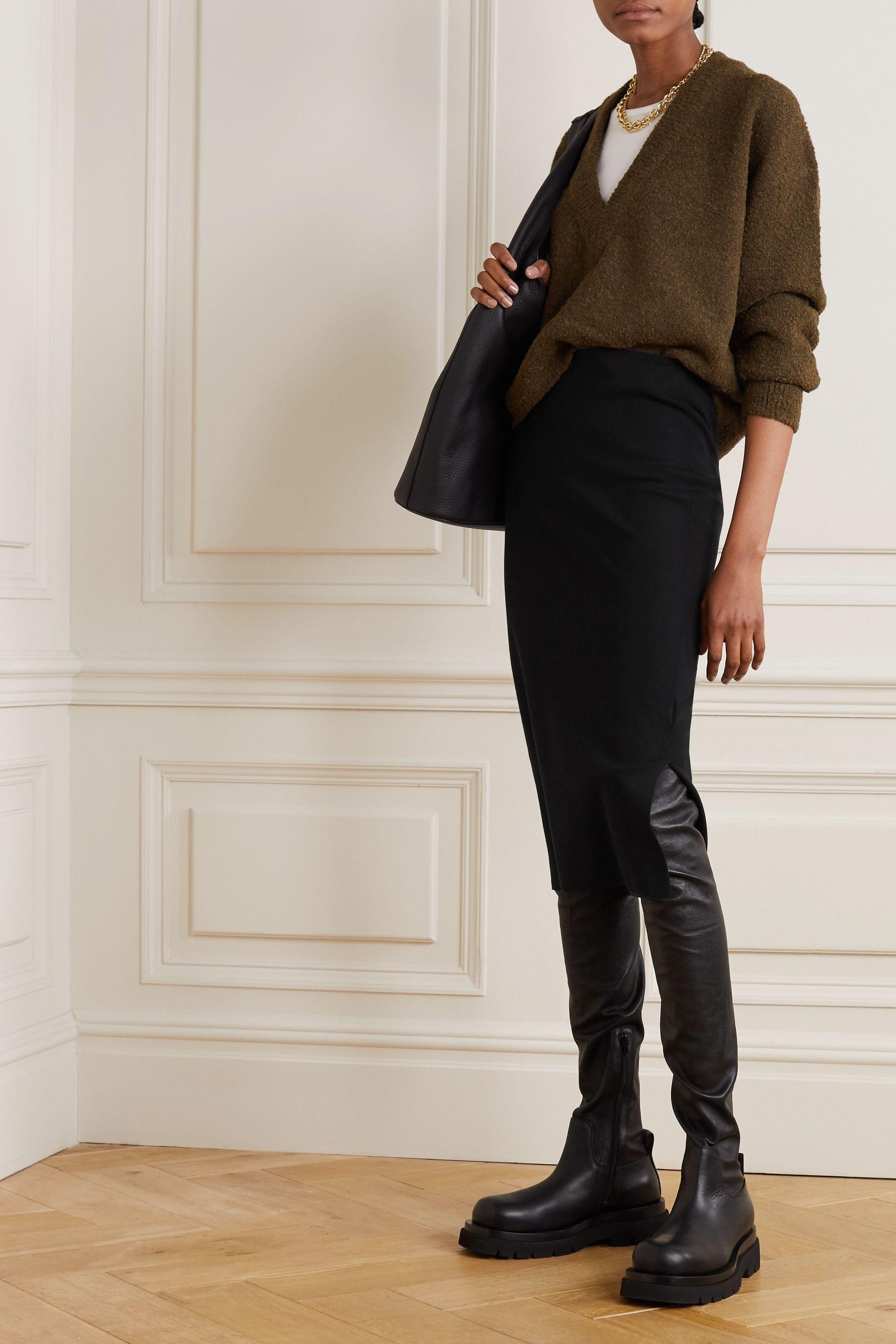 Joseph Stretch silk-blend skirt