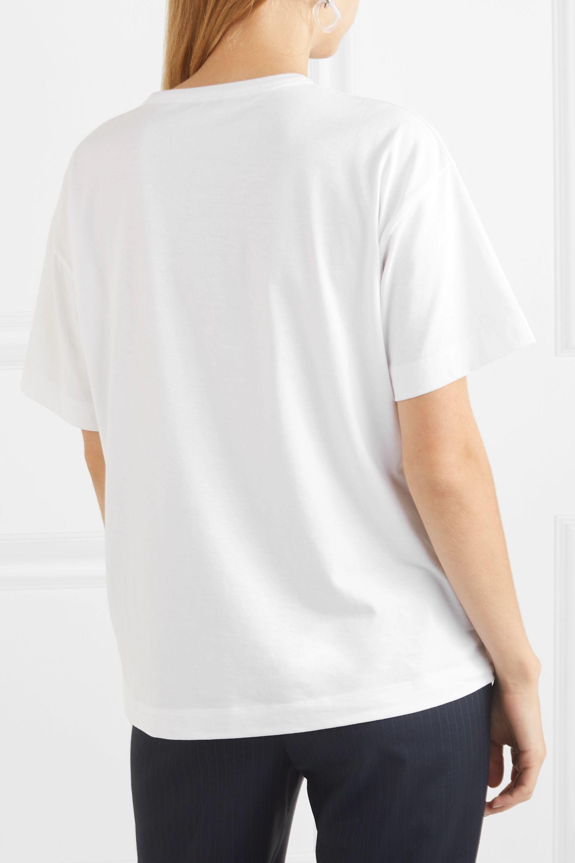 Joseph Perfect 刺绣纯棉平纹布 T 恤