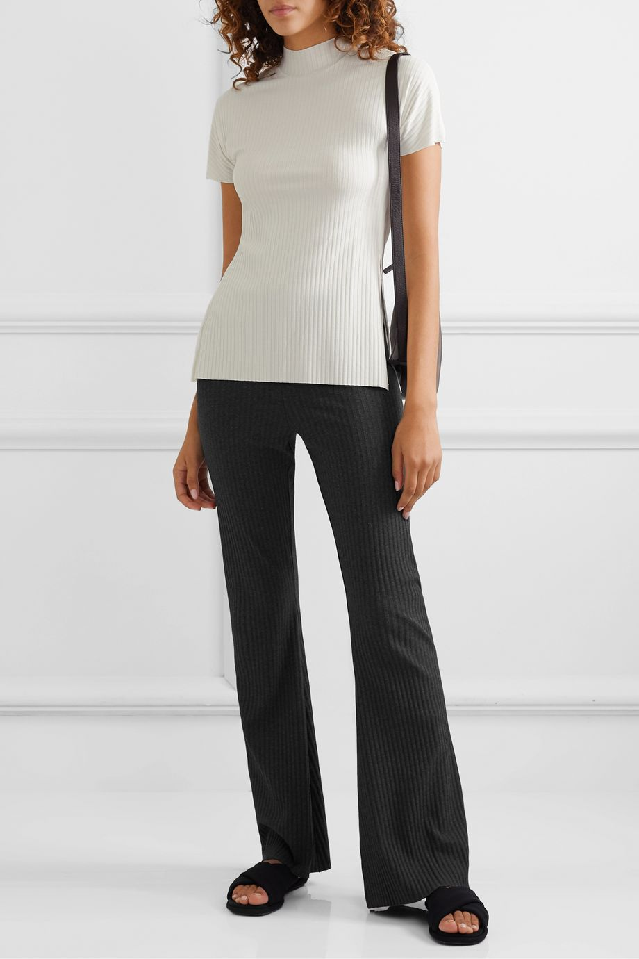 calé Beatrice ribbed-knit top