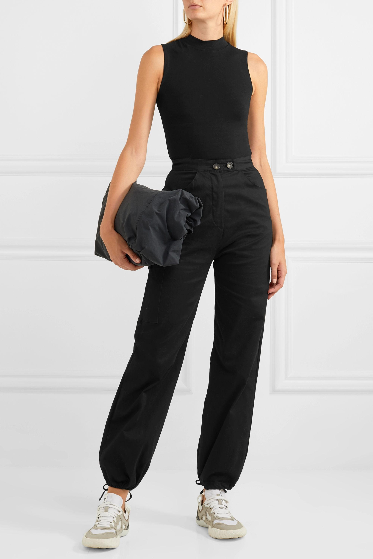 Ninety Percent + NET SUSTAIN Rita stretch-Tencel turtleneck bodysuit