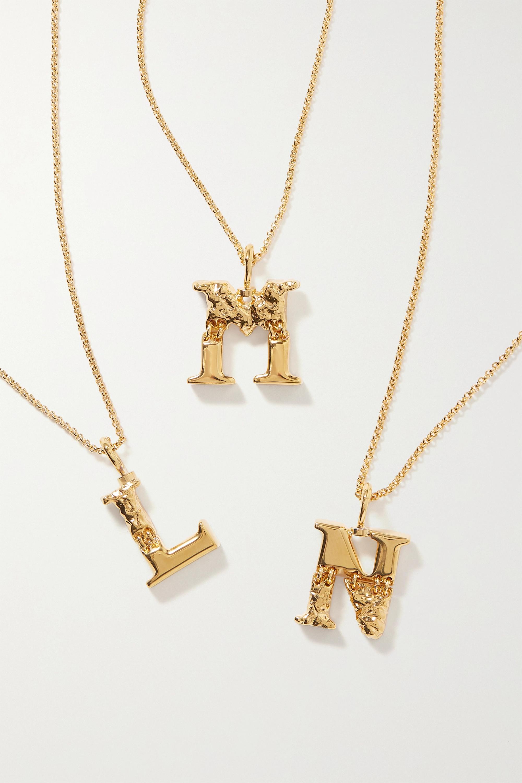 Chloé Alphabet goldfarbene Kette
