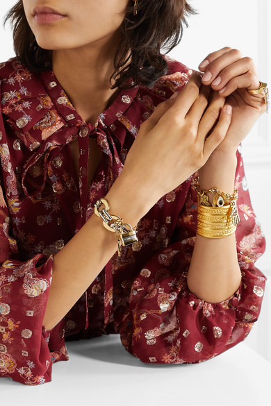 Colleen Gold And Silver Tone Bracelet by Chloé