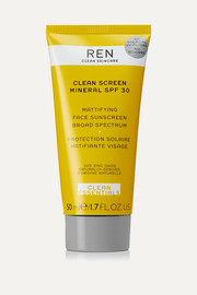 Clean Screen Mineral Mattifying Face Sunscreen SPF30, 50ml