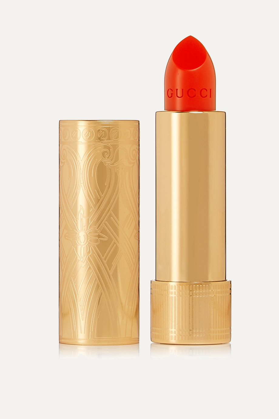 Gucci Beauty Rouge à Lèvres Satin 302 – Agatha Orange – Lippenstift