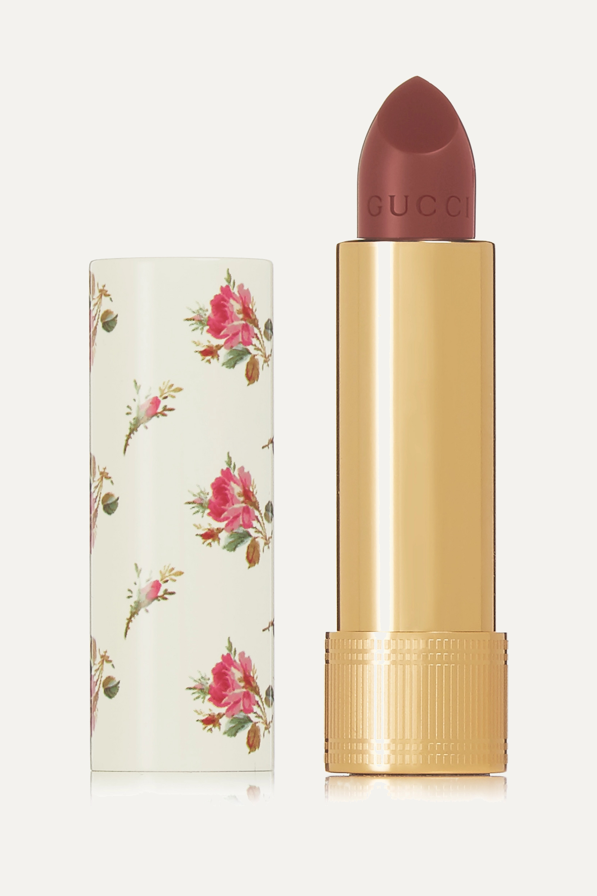 Gucci Beauty Rouge à Lèvres 极致丝滑唇膏(色号:Mildred Rosewood 203)