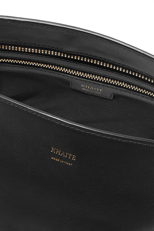 Khaite Envelope Pleat leather shoulder bag