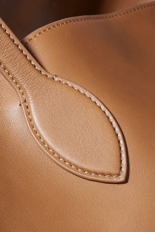Khaite Circle large leather tote