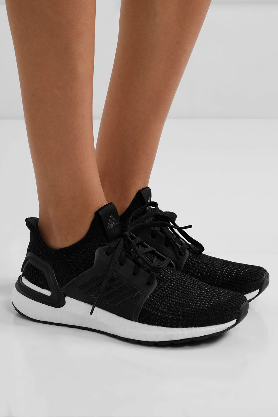 adidas Originals Ultraboost 19 mesh and rubber-trimmed Primeknit sneakers