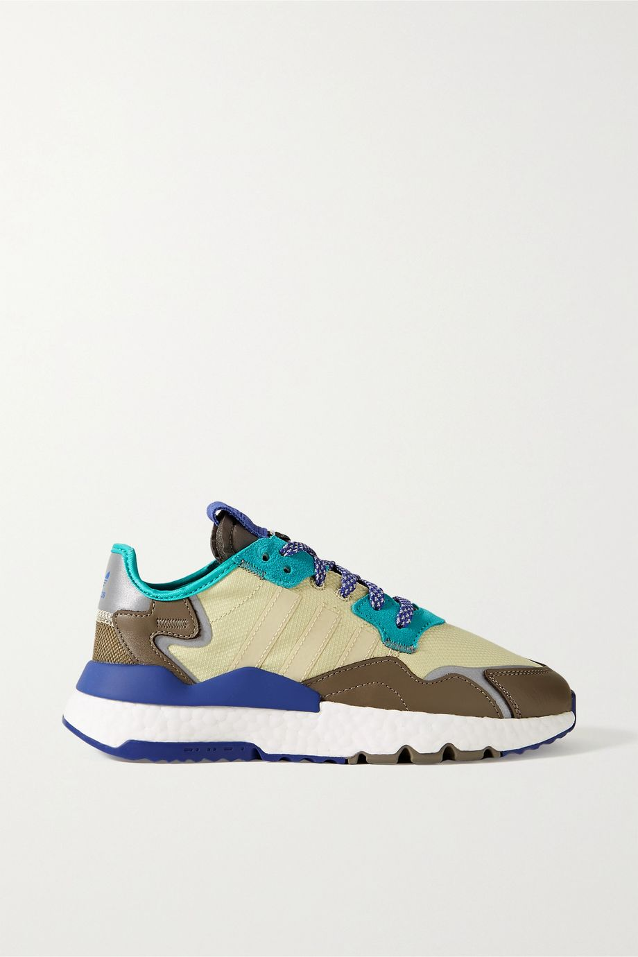 adidas Originals Nite Jogger ripstop, mesh, suede and leather sneakers