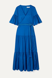 Borgo de Nor Teodora cotton-blend poplin maxi dress