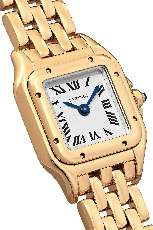 Cartier Panthère de Cartier 20mm small 18-karat gold watch