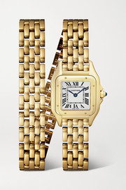 Panthère de Cartier 22mm small 18-karat gold watch