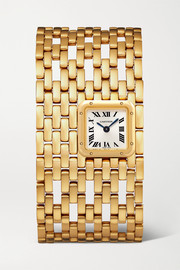 Panthère de Cartier Manchette 22mm 18-karat gold watch