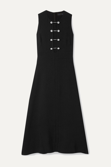 Proenza Schouler Dress Embellished crepe midi dress