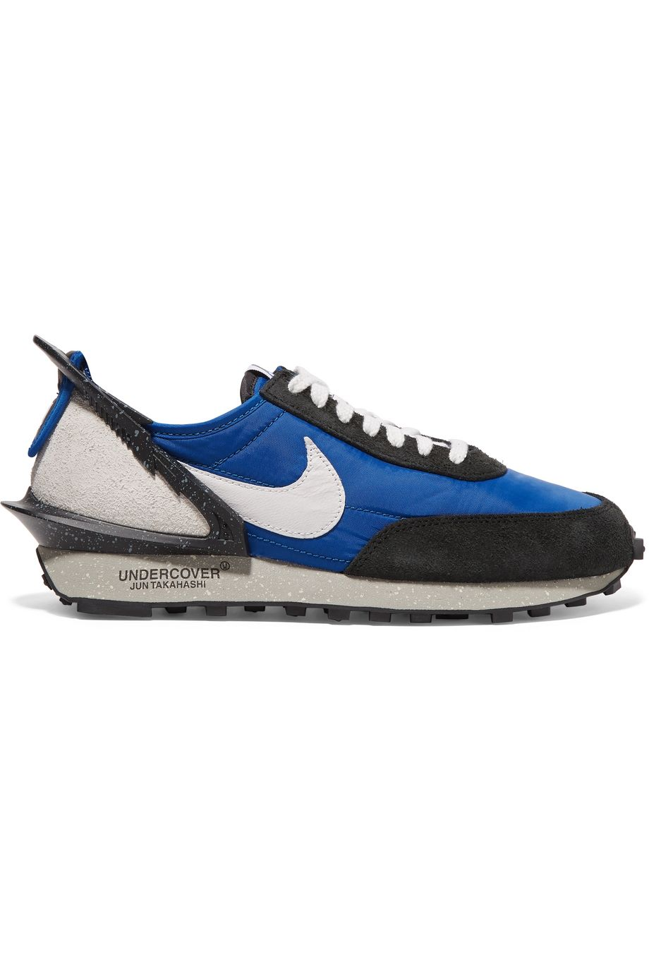 Nike + Undercover Daybreak mesh, suede and leather sneakers