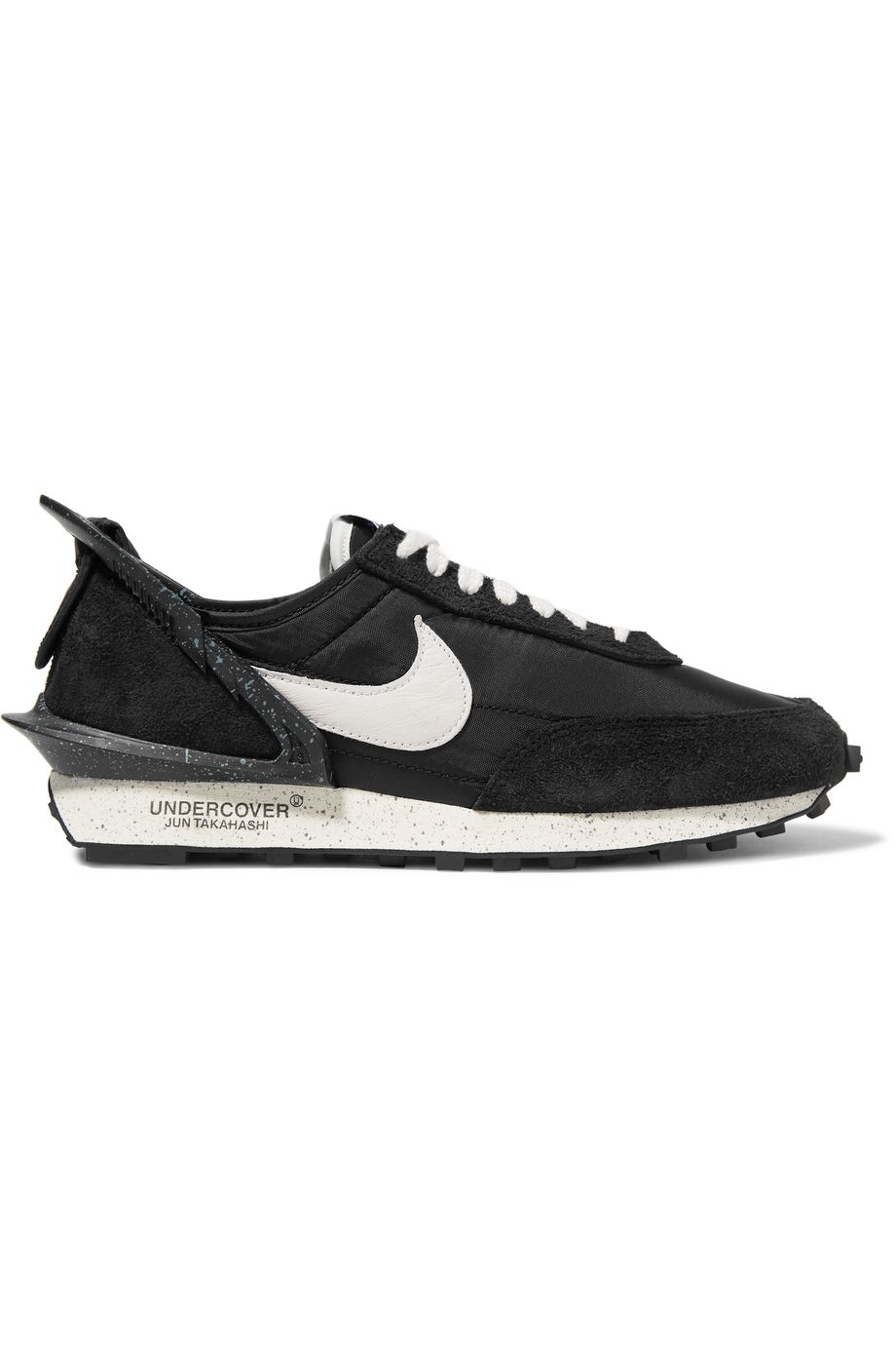 Nike + Undercover Daybreak shell, suede and leather sneakers