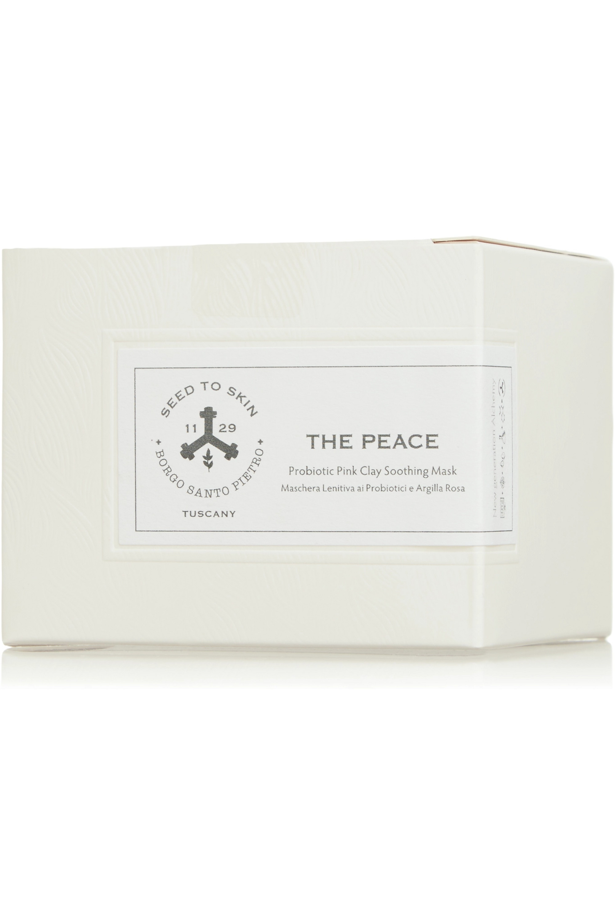 Seed to Skin The Peace Probiotic Pink Clay Soothing Mask, 35g