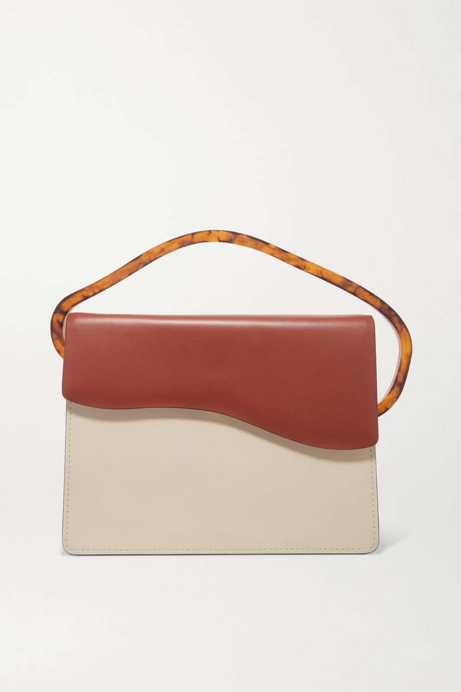 Naturae Sacra Aiges two-tone leather and resin tote