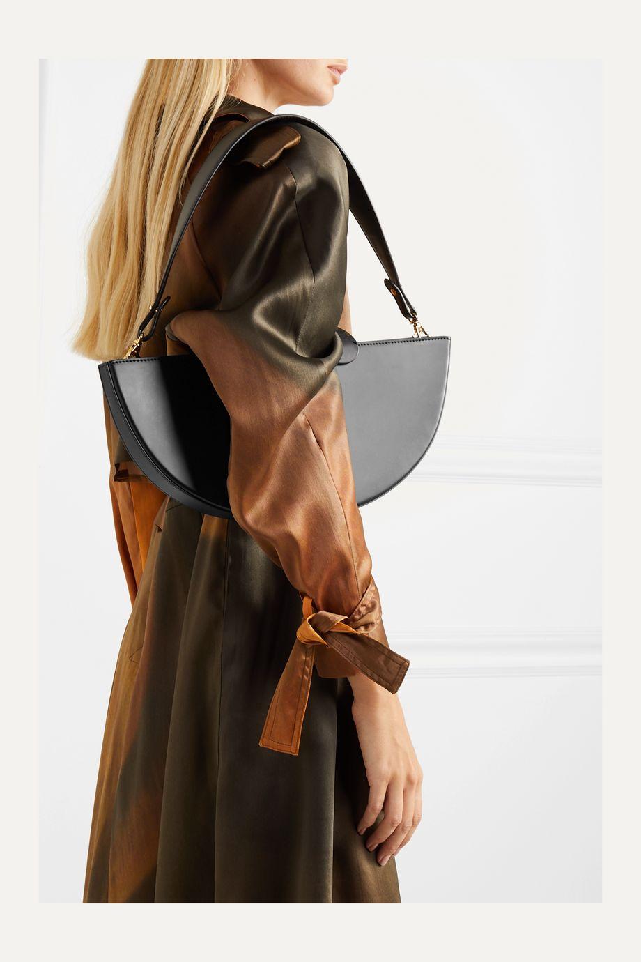 Naturae Sacra Ottava leather and resin tote