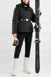 Fendi Jacquard-trimmed stirrup ski pants