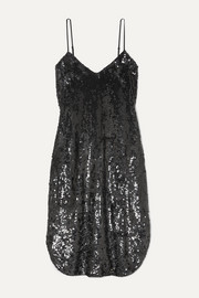 Nili Lotan Sequined chiffon dress